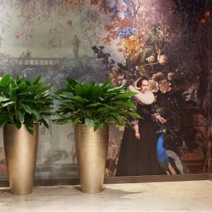 Vita Vase Medium Light Gold